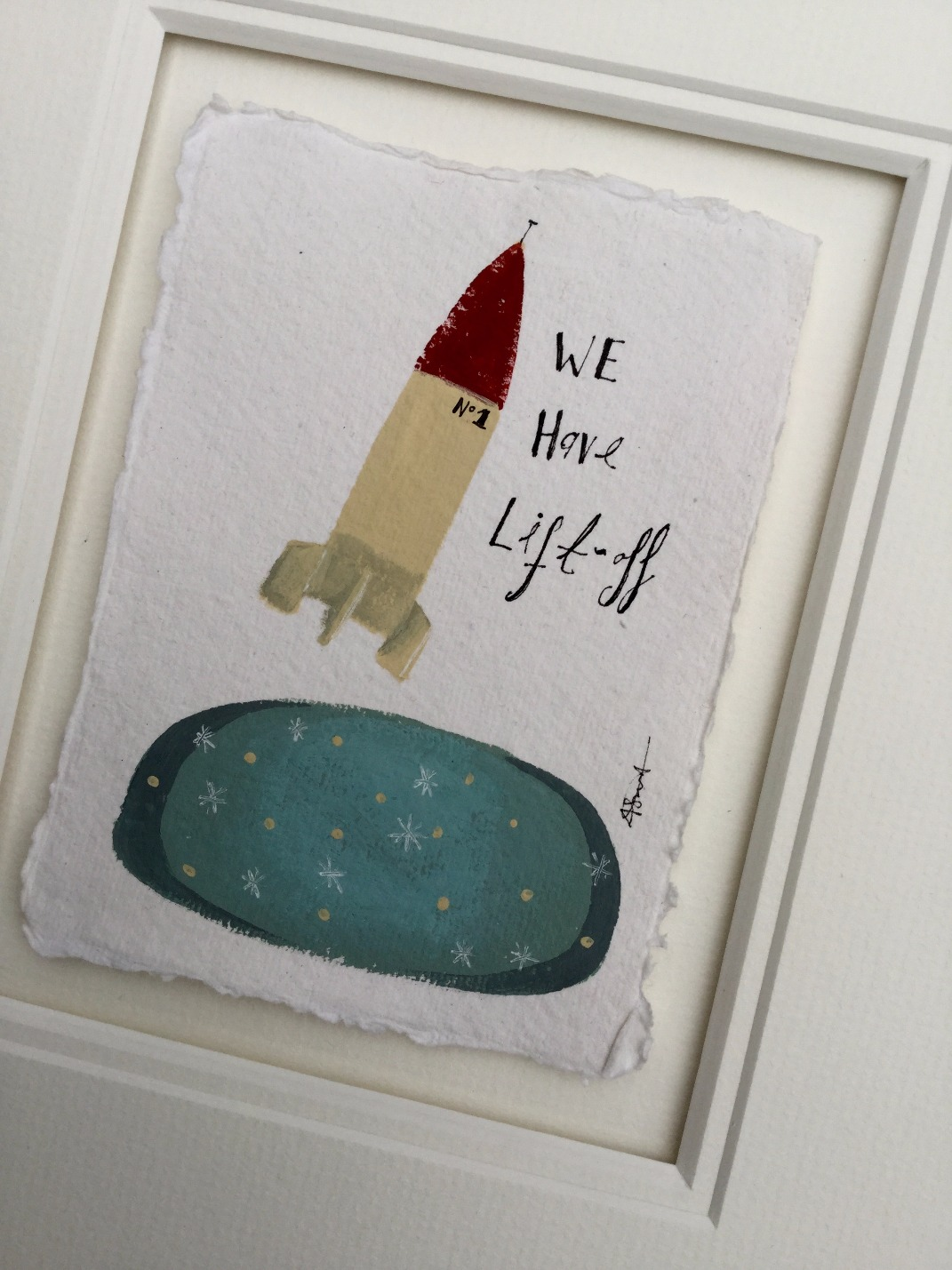 We Have Lift Off by Angela Smyth