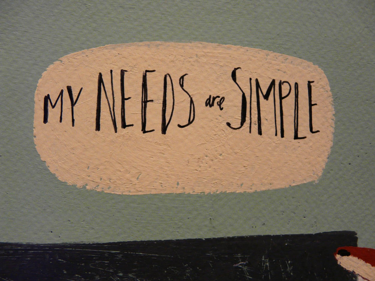 My needs are simple by Angela Smyth, Music | Fox | Illustrative