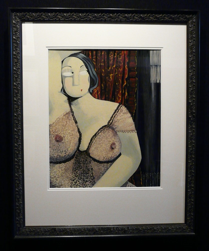 The Voyeur by Angela Smyth, Figurative | Nude | Special Offer