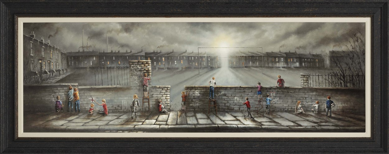 Field of Dreams by Bob Barker, Children | Nostalgic | Northern | Football