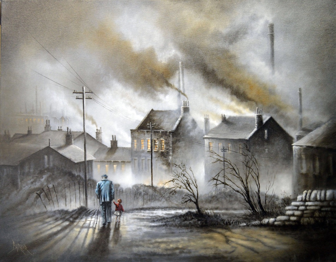 May to December by Bob Barker, Children | Northern | Nostalgic | Family | Industrial | Landscape