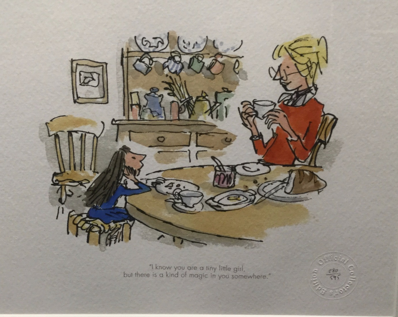 There is a Kind of Magic by Quentin Blake, Children