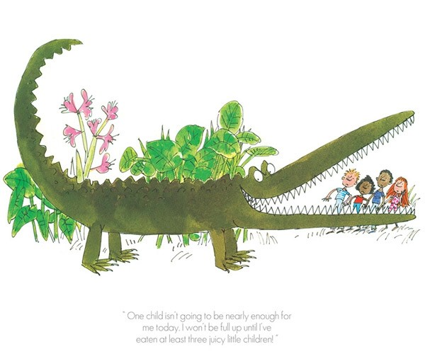 One Child Isn't Enough by Quentin Blake, Children