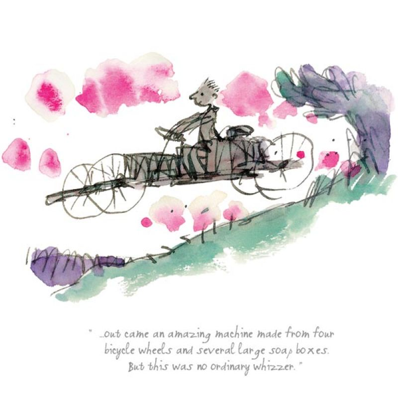 This was no Ordinary Whizzer by Quentin Blake, Children