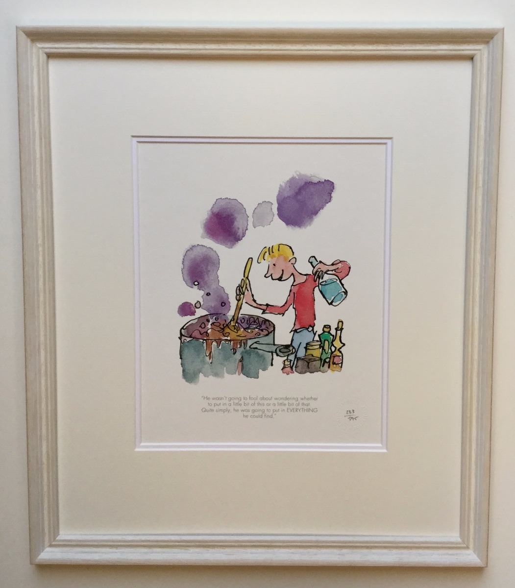 He Put in Everything he Could Find by Quentin Blake, Children