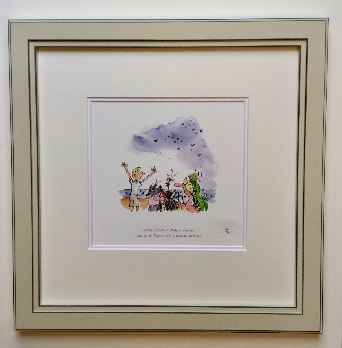 Action Stations! - James Shouted by Quentin Blake, Children | Family