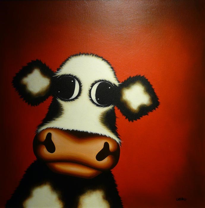 Beast by Caroline Shotton, Cow | Humour