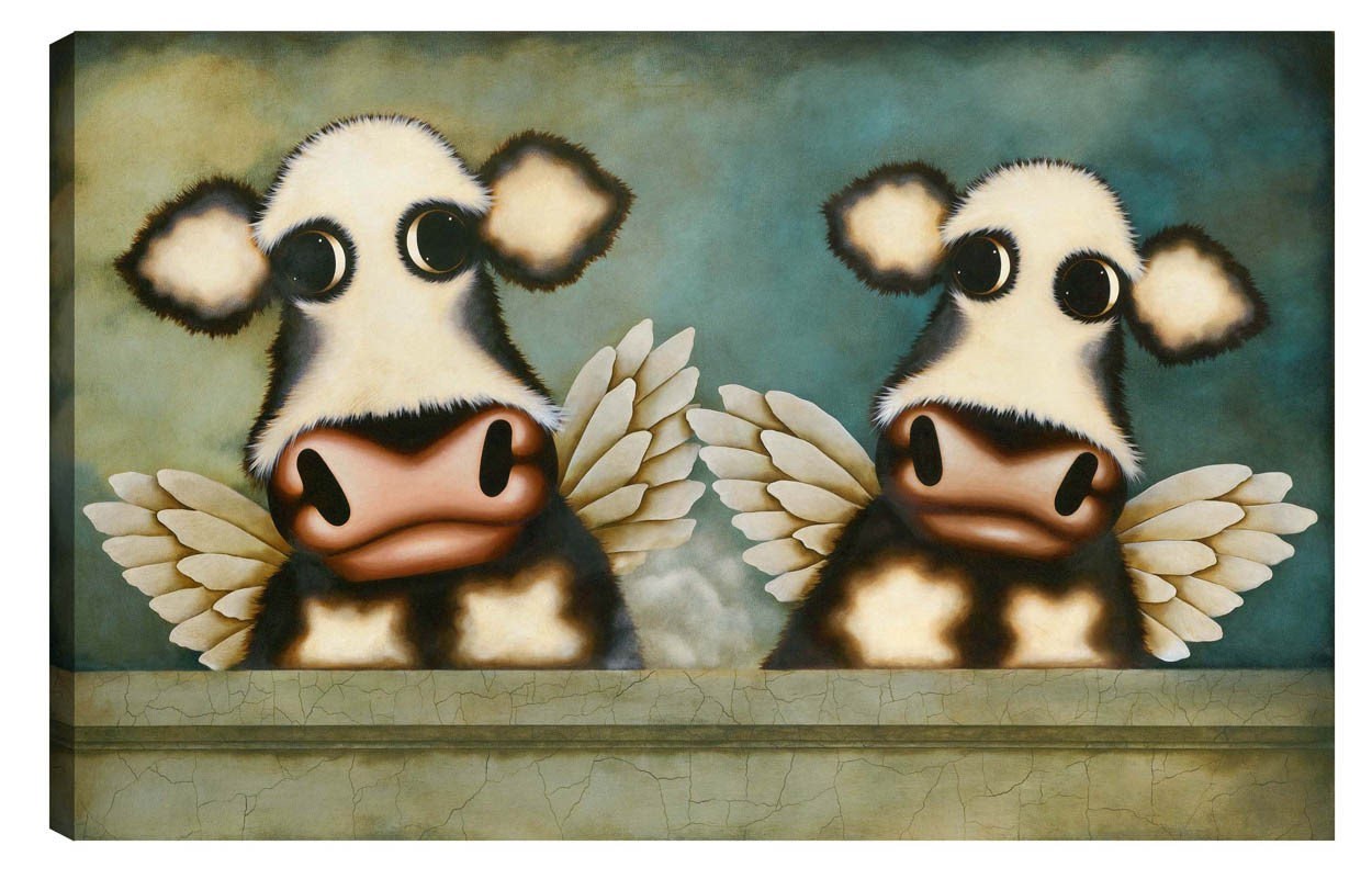Heaven Scent by Caroline Shotton, Cow | Couple | Humour | Love | Romance