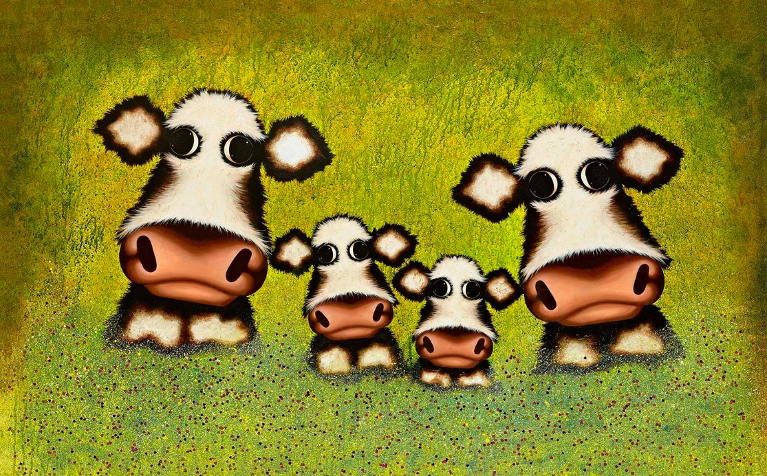 Such a Perfect Day by Caroline Shotton, Animals | Humour | Cow