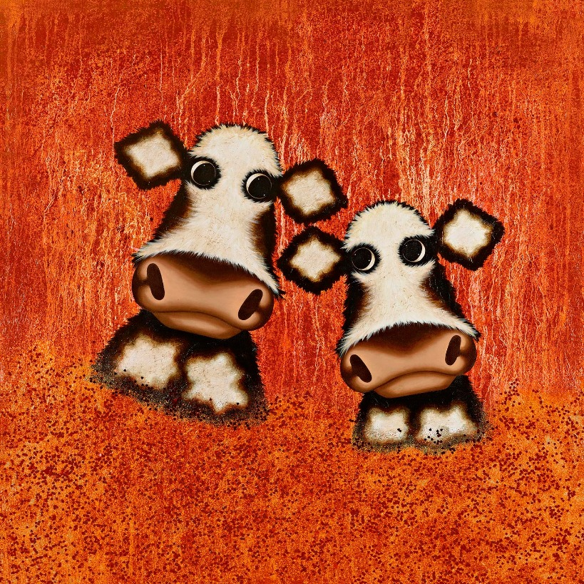 Sunshine of Your Love by Caroline Shotton, Animals | Cow | Humour