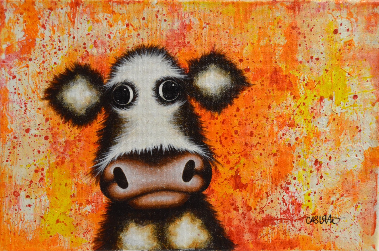 Frank by Caroline Shotton, Cow | Humour | Family