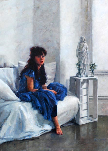 Thoughts of the Lake by Gwyn Jones, Figurative | Special Offer