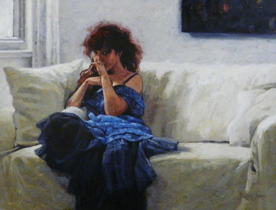 Olivia in the White Room by Gwyn Jones, Figurative | Special Offer