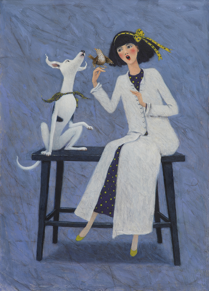 Singing Lessons by Gwyn Jones, Dog