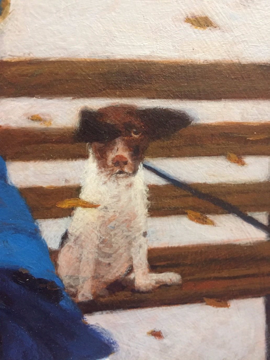 Gone with the Wind by Gwyn Jones, Figurative | Film | Naive | Dog