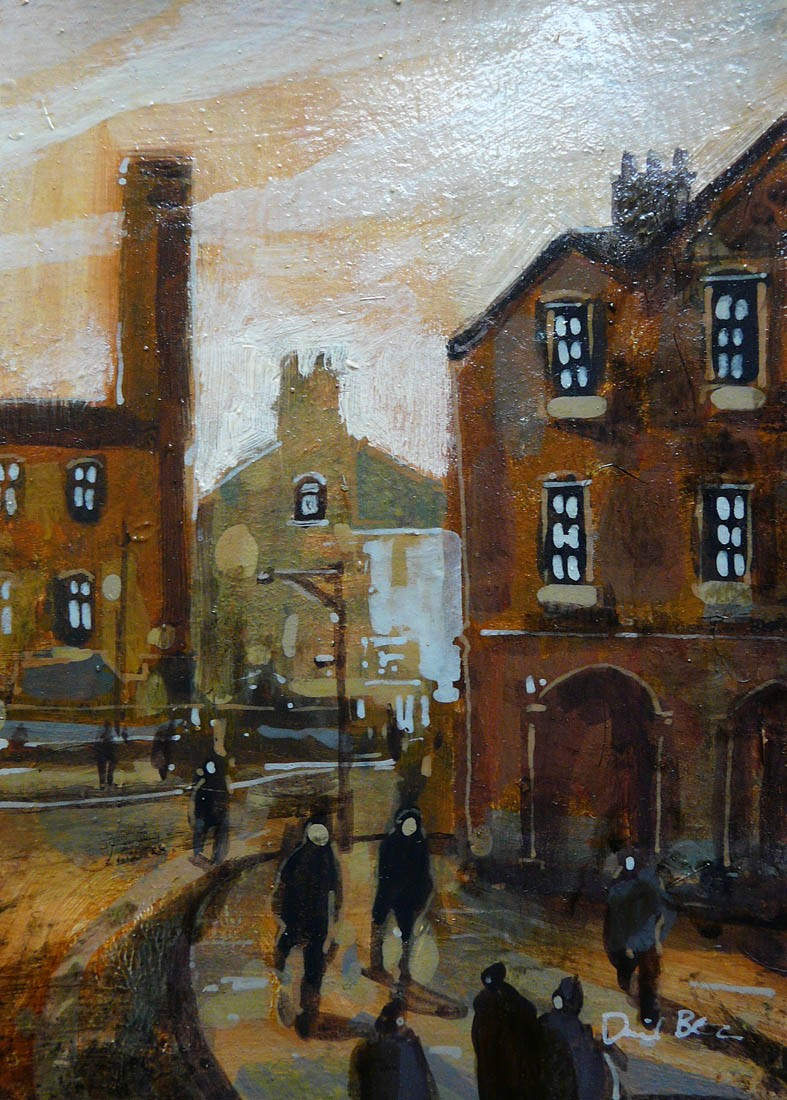 Town Hall by David Bez, Industrial | Northern | Nostalgic