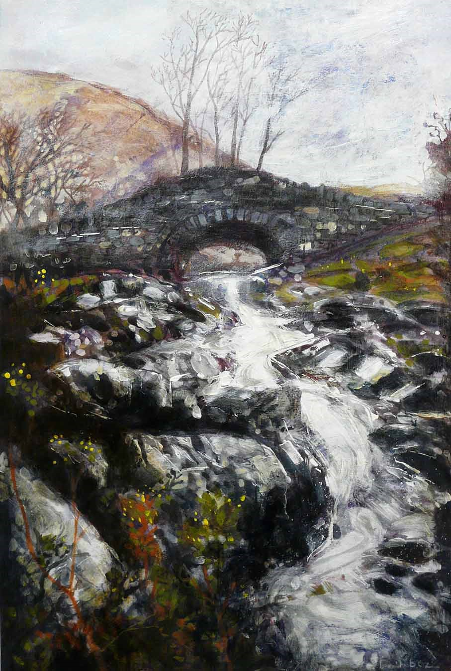Ashness Bridge by David Bez, Landscape | Northern | Water