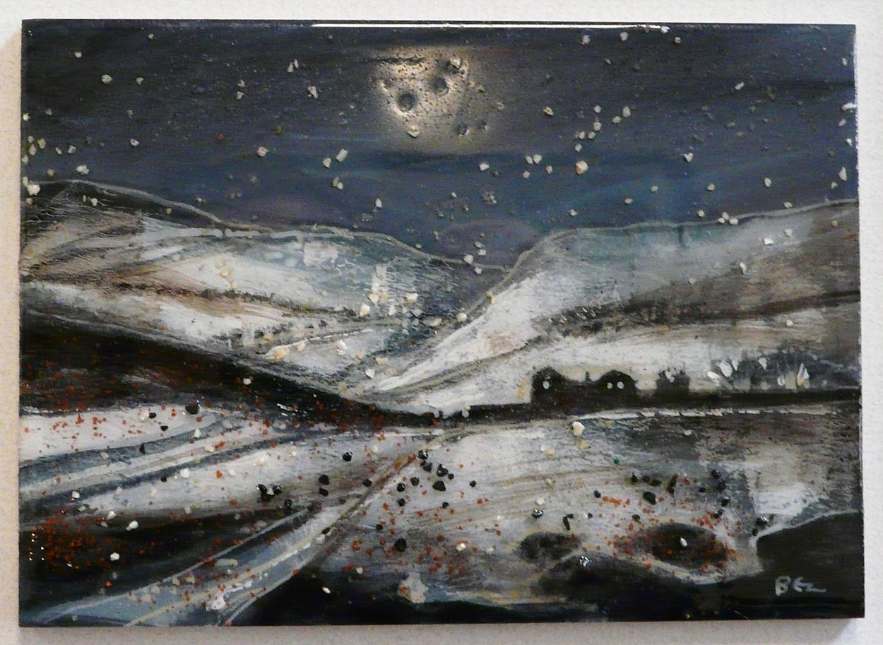 Moorland Farm by David Bez, Landscape | Northern | Local | Snow