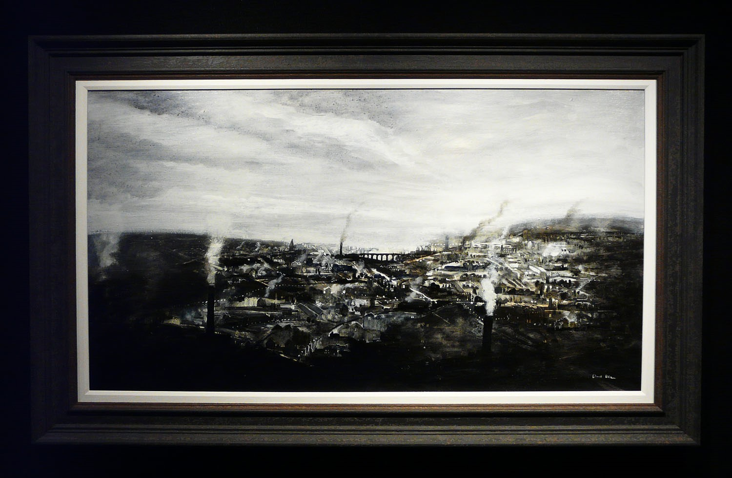 Northern Powerhouse by David Bez, Northern | Nostalgic | Landscape | Industrial | Train