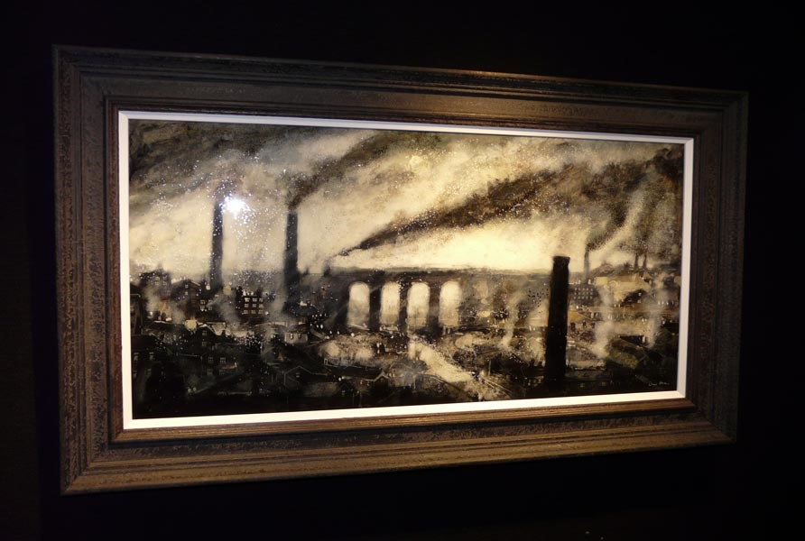 Stockport by David Bez, Transport | Train | Northern | Landscape | Industrial