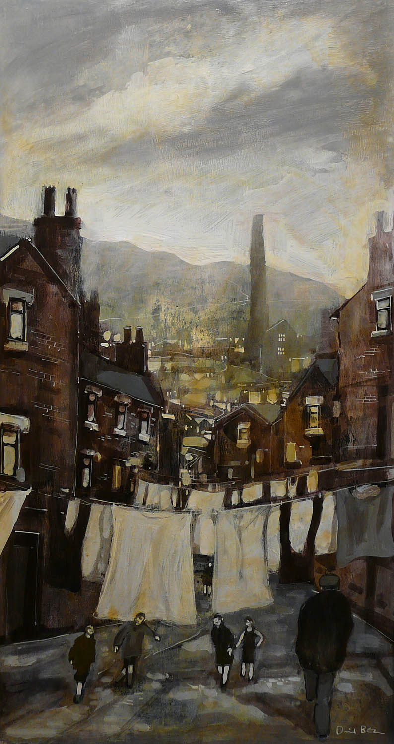 Drying Day by David Bez, Northern | Nostalgic | Landscape | Local