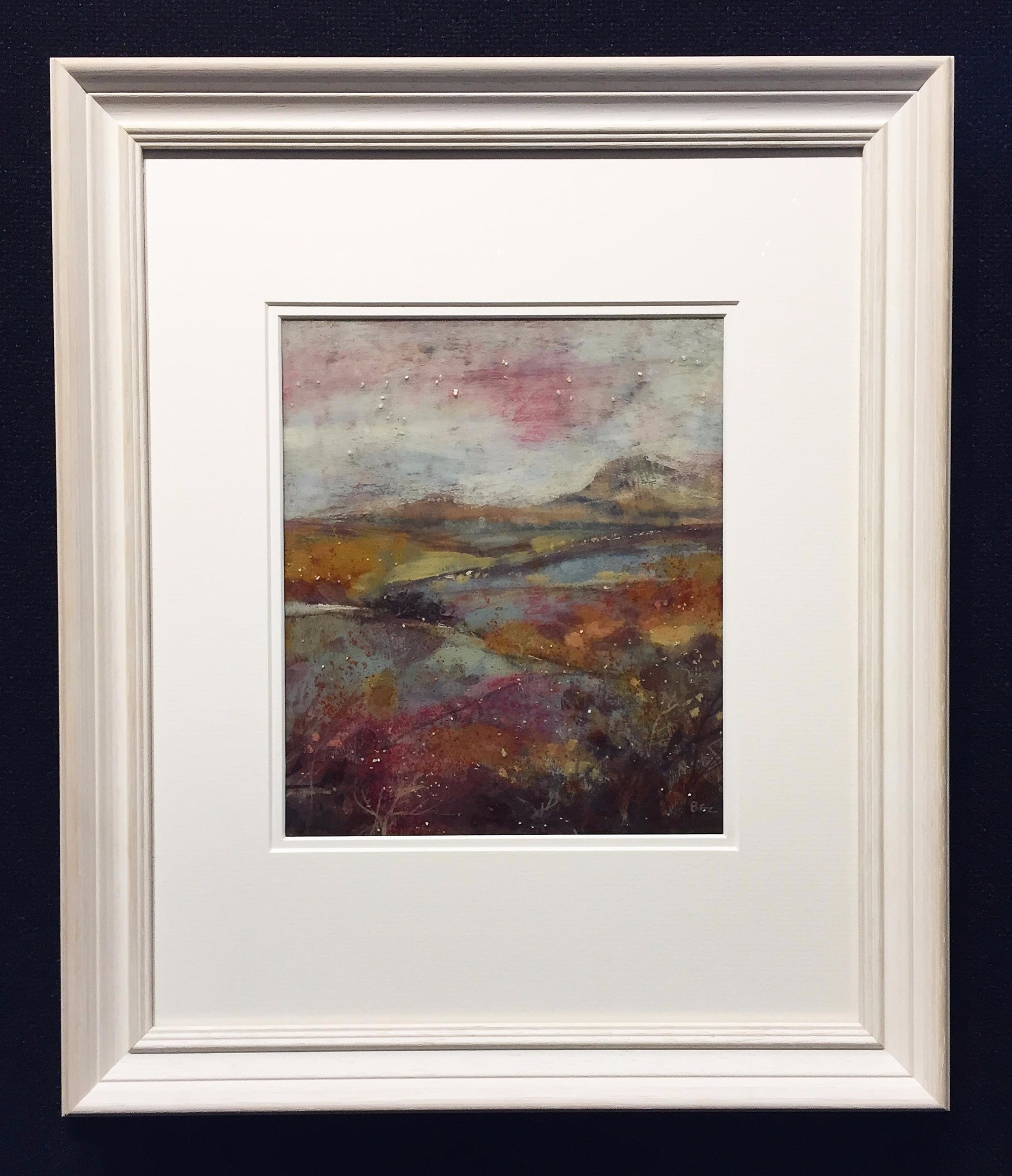 Path through Heather by David Bez, Landscape | Local | Flowers