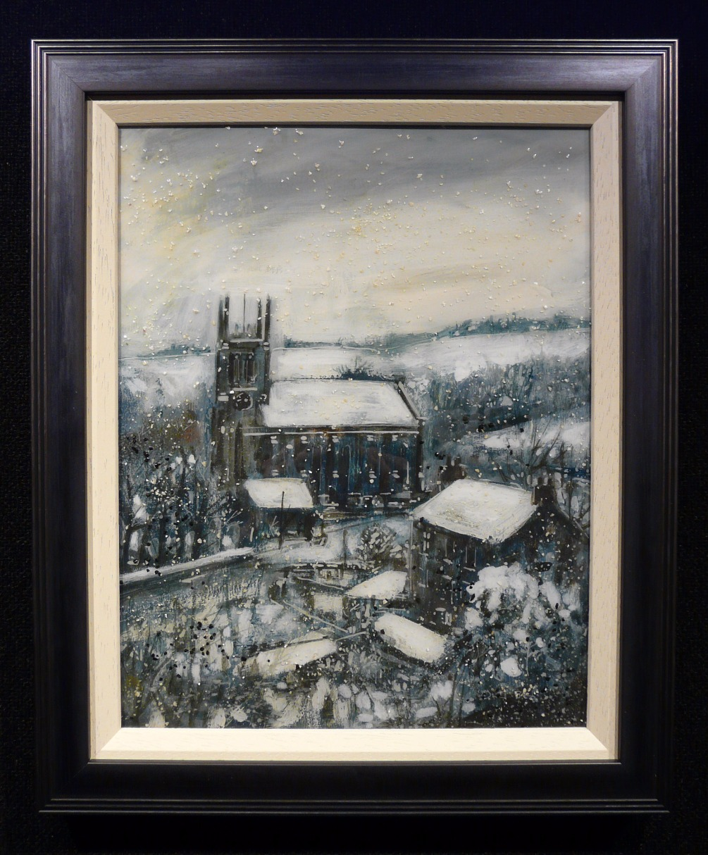 Saddleworth Church by David Bez
