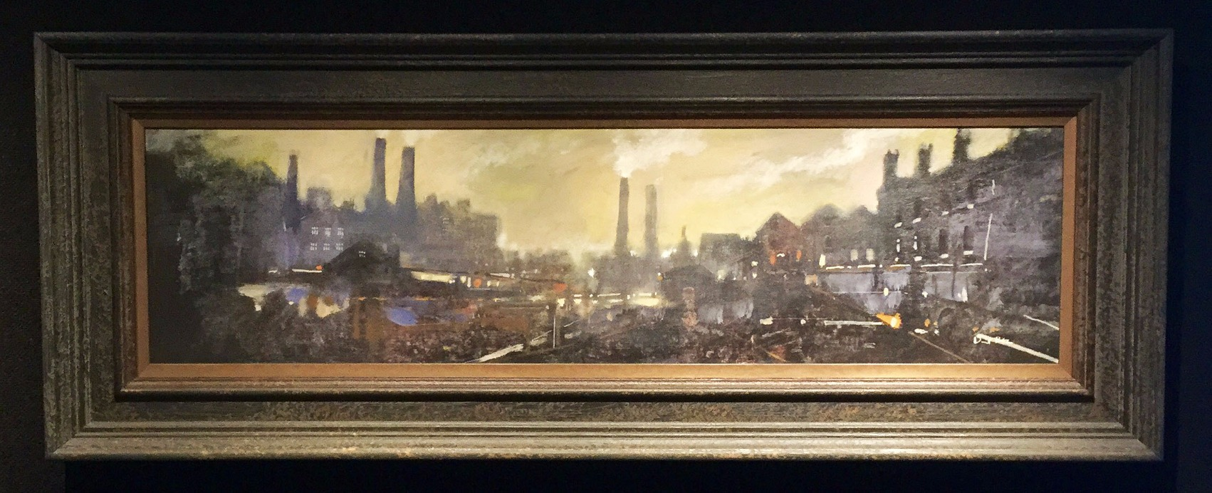 Another Working Day by David Bez, Northern | Nostalgic | Industrial | Landscape