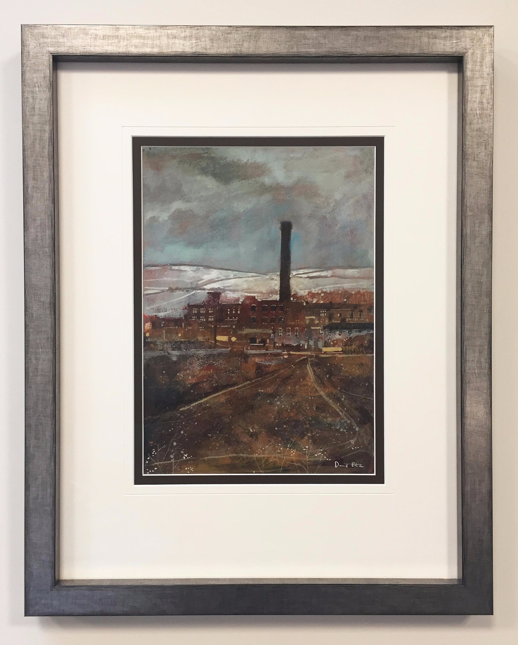 The Snowy Moor by David Bez, Northern | Nostalgic | Industrial | Landscape