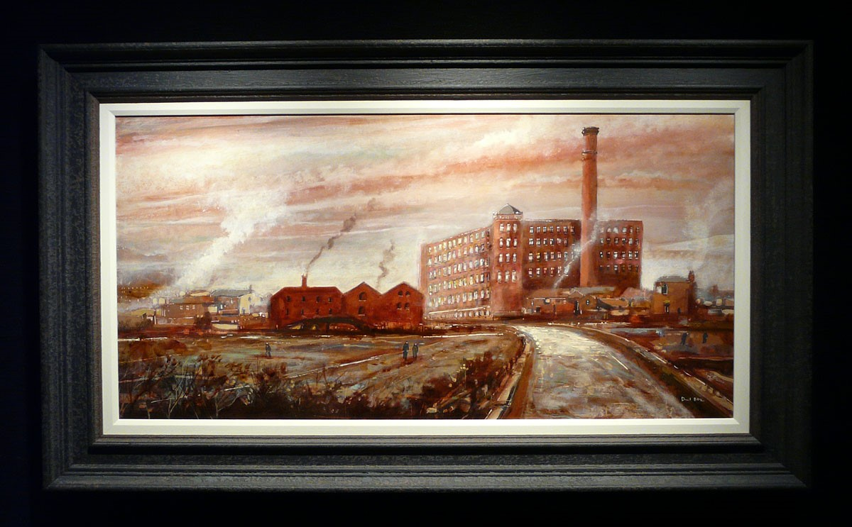 Tudor Mill, Ashton under Lyne by David Bez, Local | Landscape | Industrial | Northern | Nostalgic | Special Offer