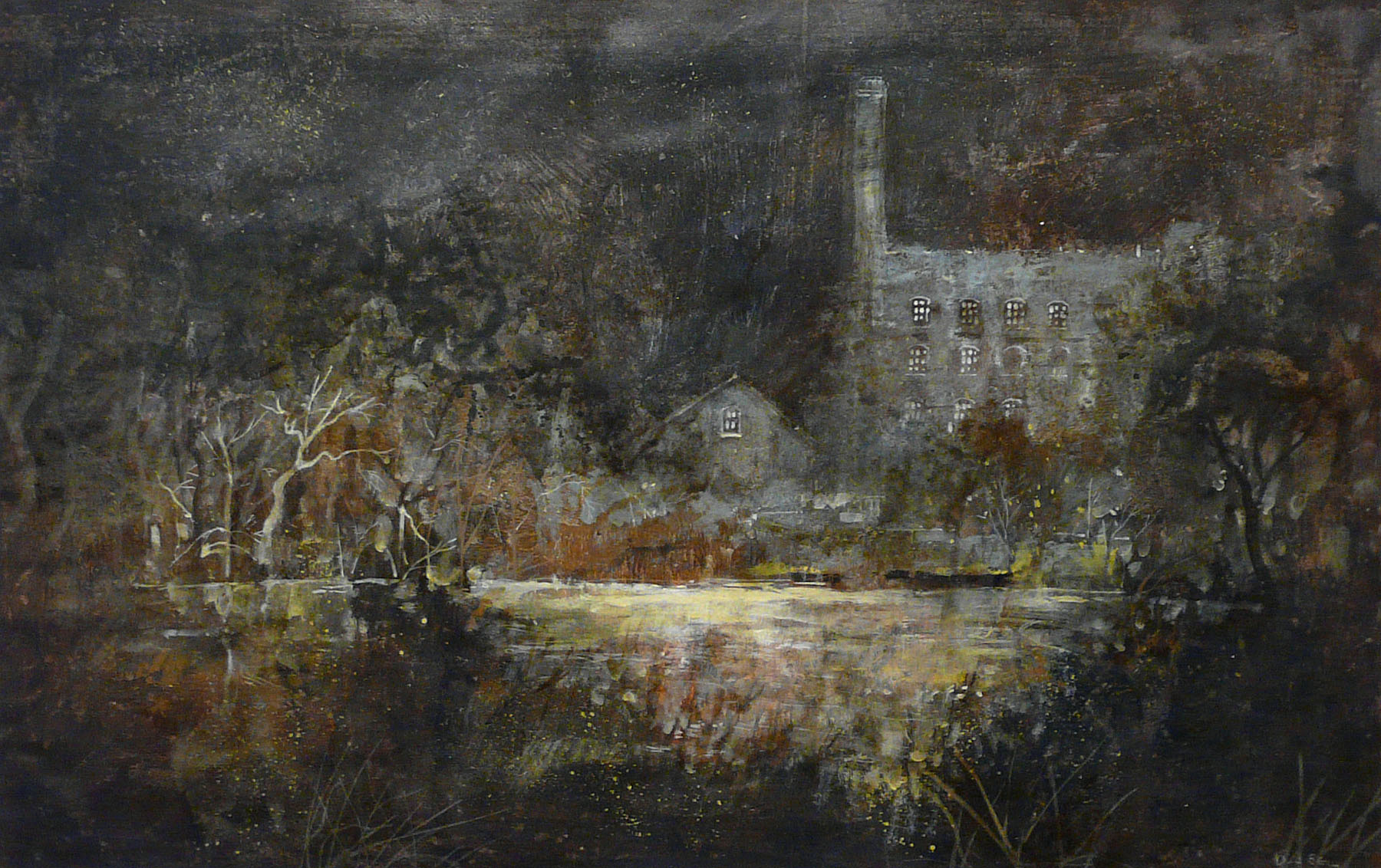 Still of the Night by David Bez, Northern | Industrial | Landscape | Nostalgic | Local