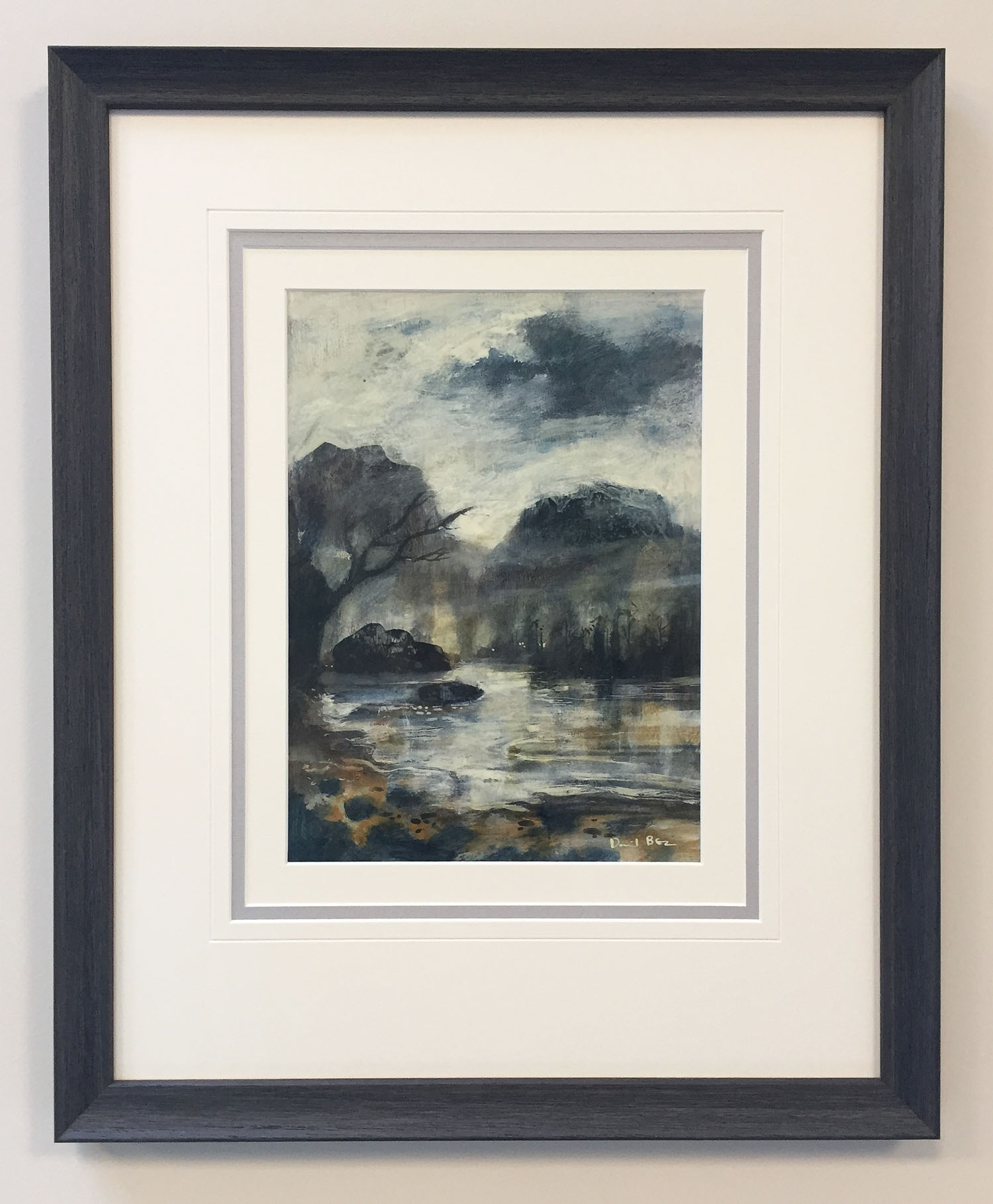 The Rock Pool by David Bez, Landscape | Water | Northern