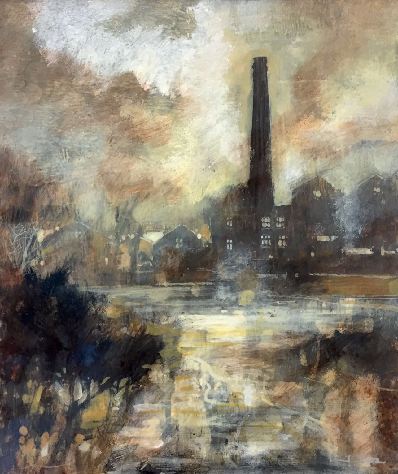 Standing Tall by David Bez, Water | Landscape | Northern | Industrial | Local