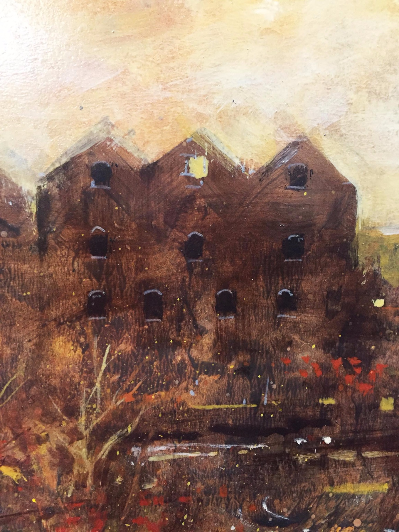 The Fall by David Bez, Northern | Nostalgic | Flowers | Industrial | Landscape