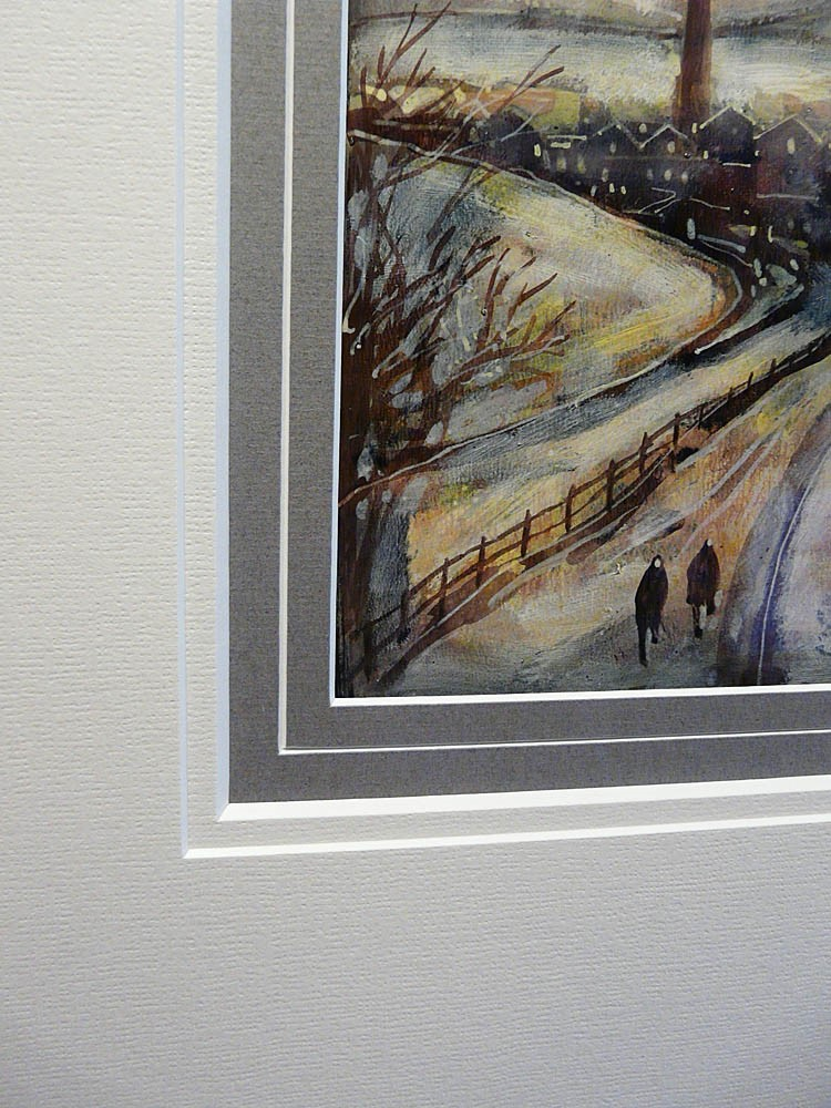 A Winters Walk by David Bez, Industrial | Northern | Snow | Landscape