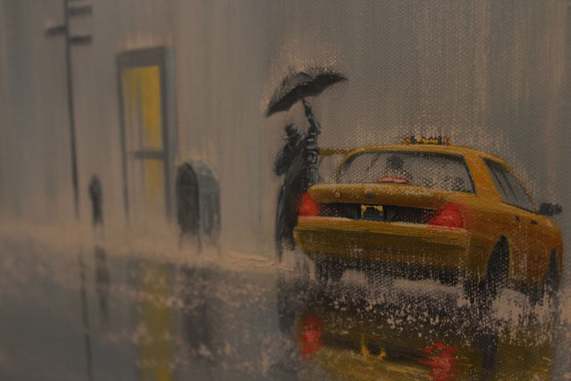 New York Cab by Jeff Rowland, New York | Customer Sale