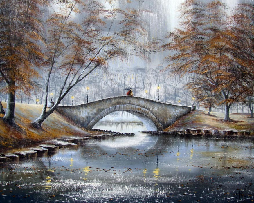 Meet me on the Bridge (deluxe) by Jeff Rowland, New York | Love | Romance | Water