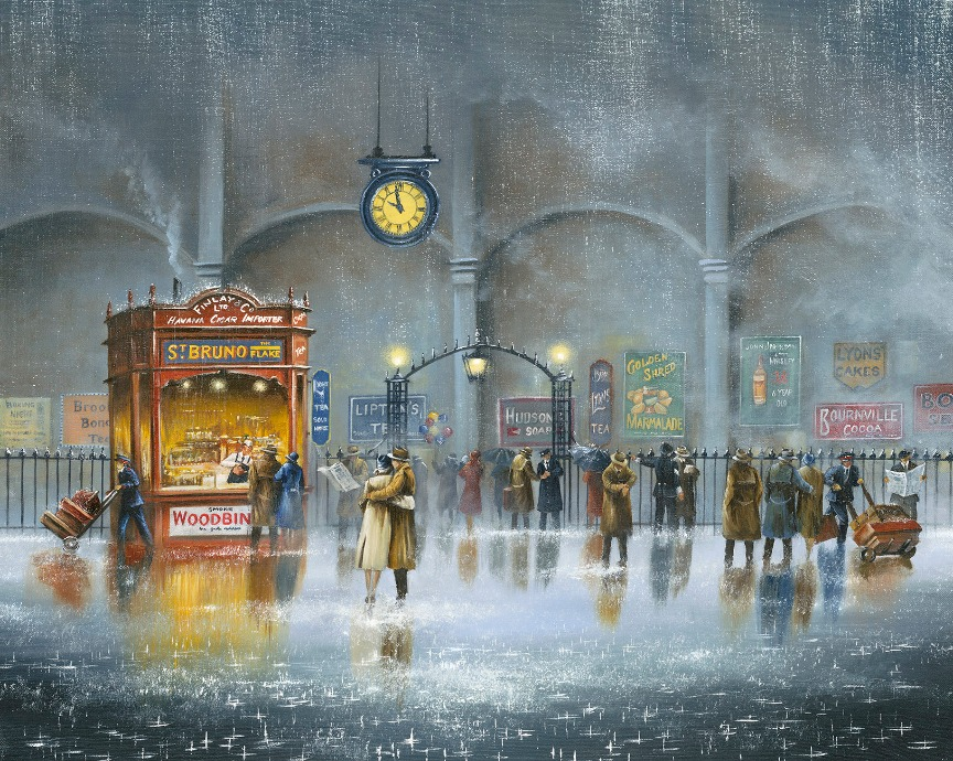 Until the Last Minute by Jeff Rowland, Nostalgic | Train | Transport | Love | Romance
