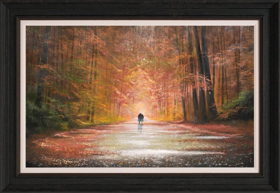 A Lover's Stroll by Jeff Rowland, Couple | Romance | Love
