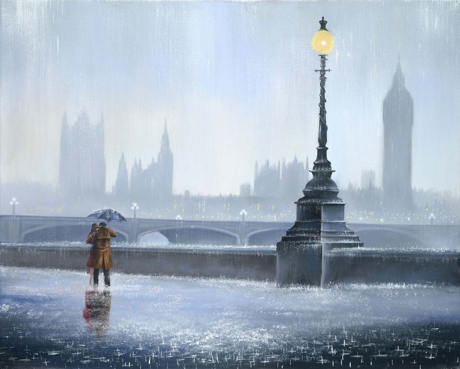 Falling in love again by Jeff Rowland, Rare | Couple | Love | Romance | Nostalgic | Water