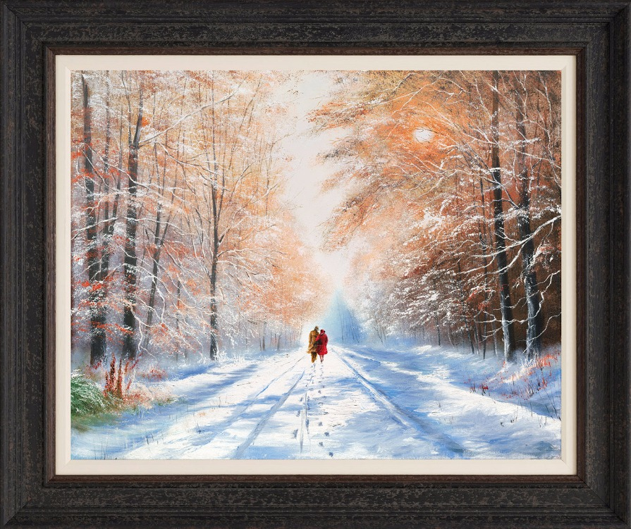 A Winter Sun by Jeff Rowland, Snow | Couple | Romance