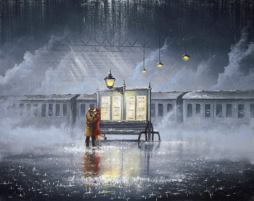 Last Train Home by Jeff Rowland, Love | Couple | Romance