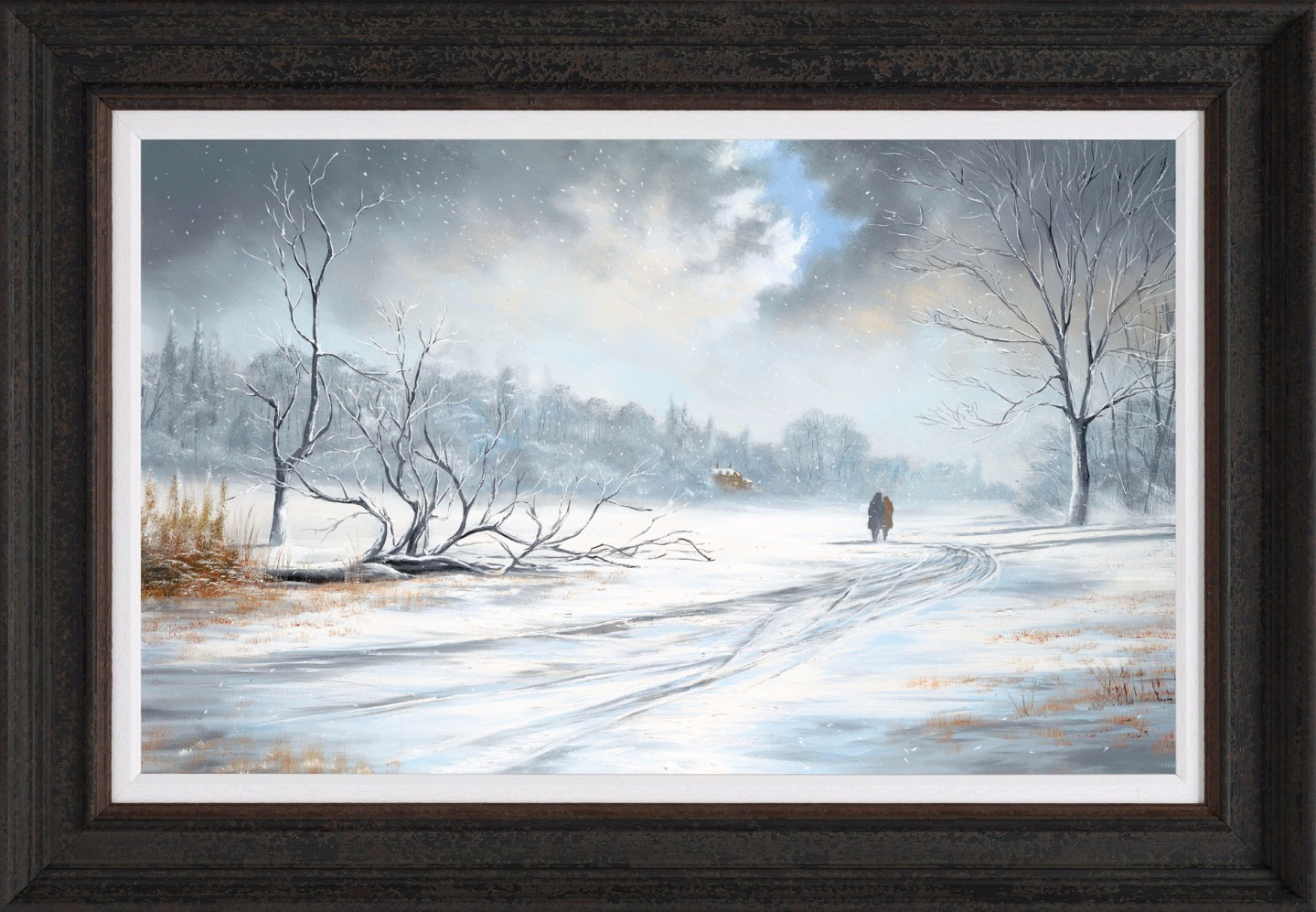Whatever the Weather by Jeff Rowland, Snow | Couple | Romance | Love | Special Offer | Rare