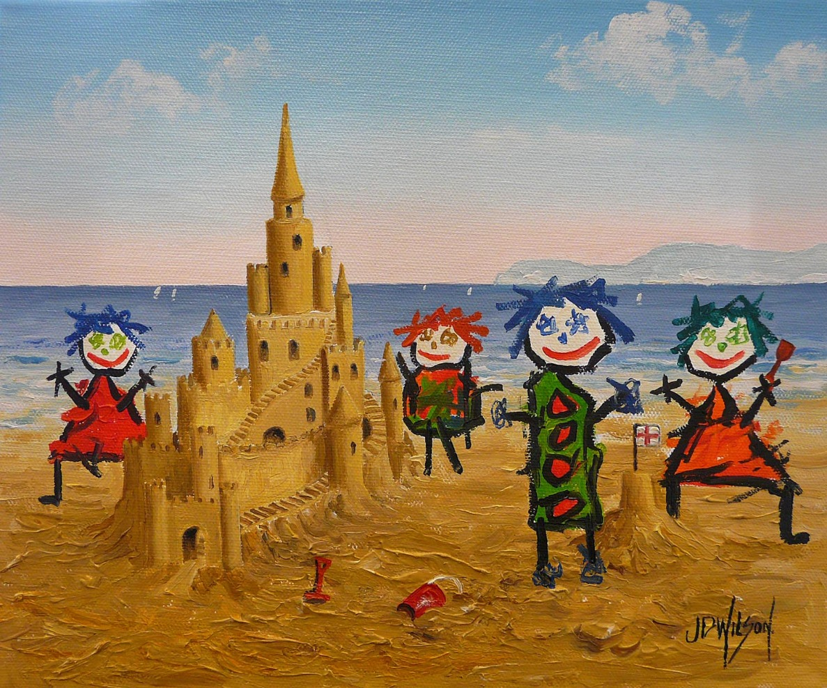 The Sandcastle by John D Wilson, Children | Family | Sea | Water