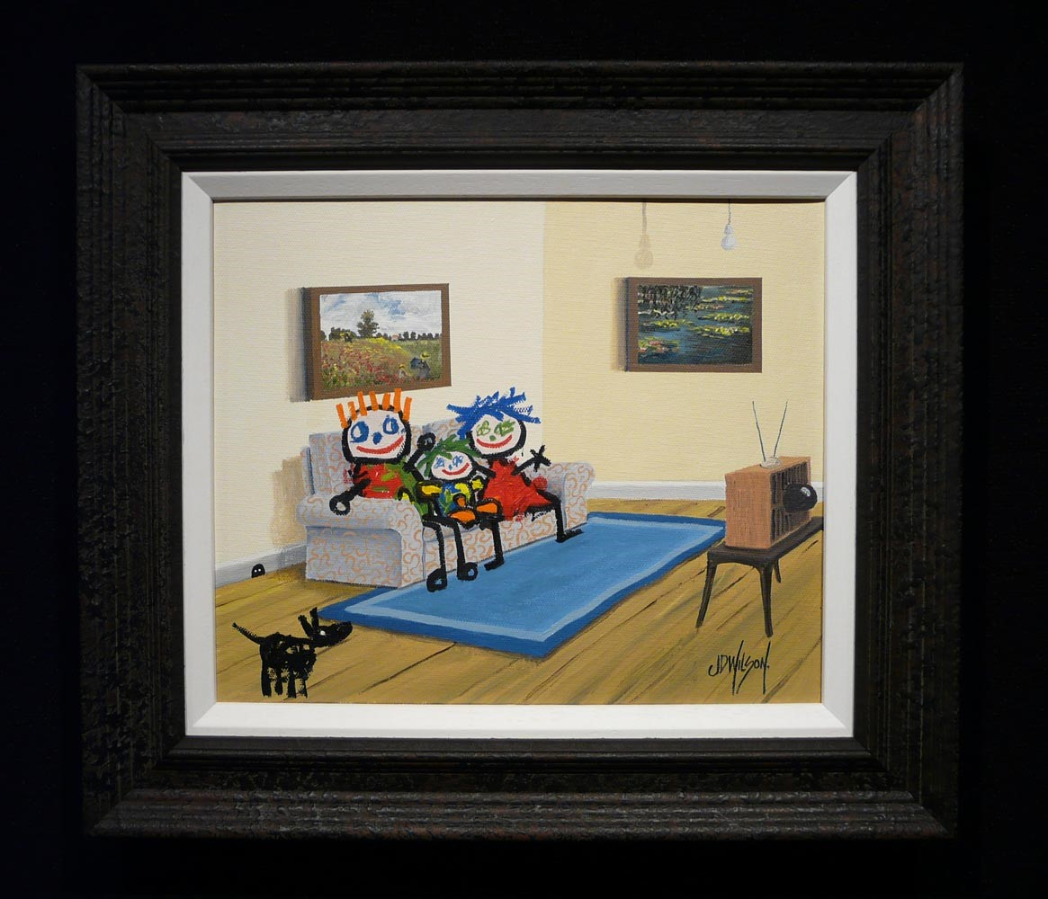 Family Viewing by John D Wilson, Children | Nostalgic | Humour