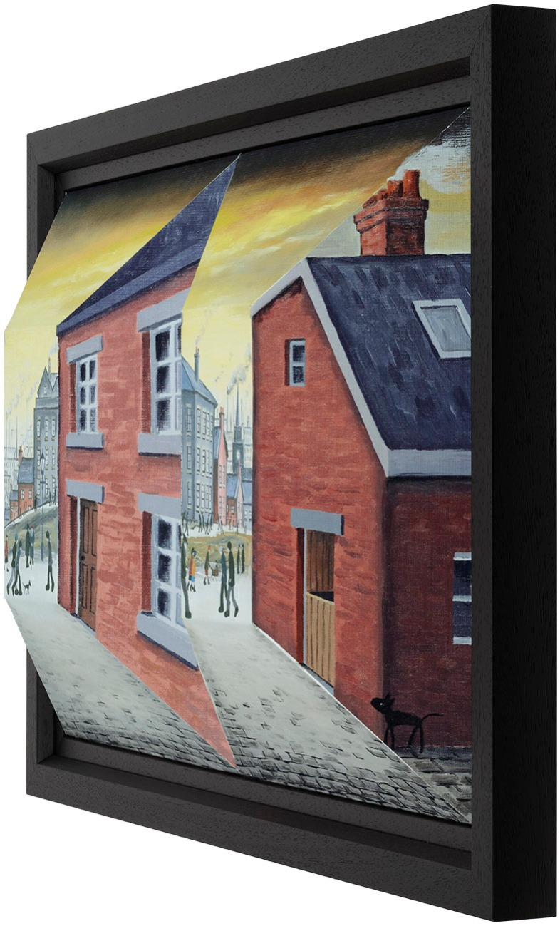 End of the Day by John D Wilson, Local | 3D | Lowry | Northern | Nostalgic