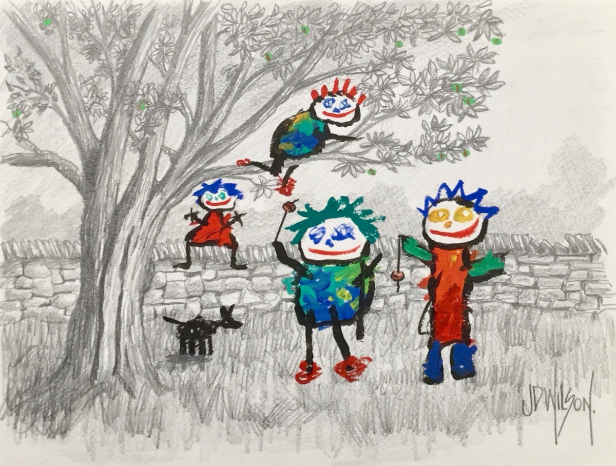 The Conker Match by John D Wilson, Children | Nostalgic | Naive