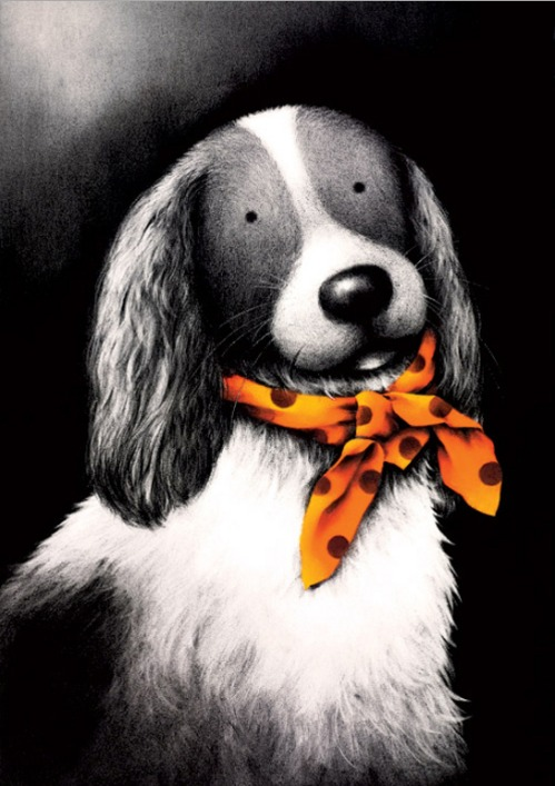 Fine and Dandy by Doug Hyde, Animals | Dog | Figurative | Humour