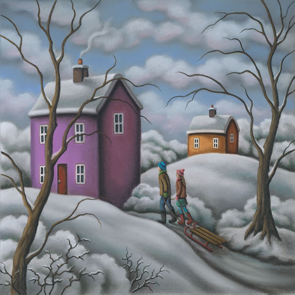 Snowbound by Paul Horton, Snow | Couple | Romance