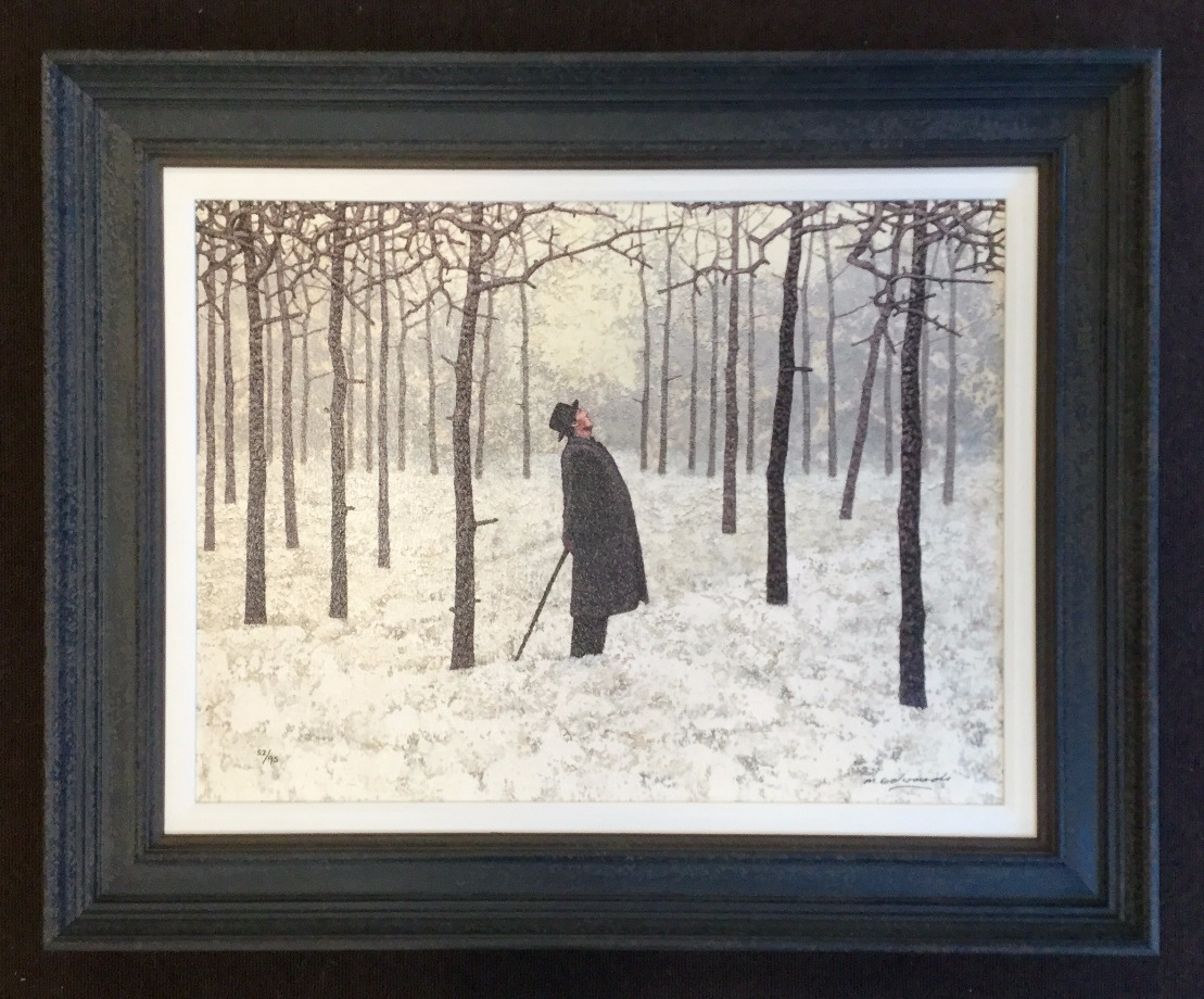 The Writer by Mark Edwards, Figurative | Snow